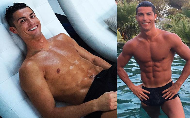 Ristiano ronaldo naked